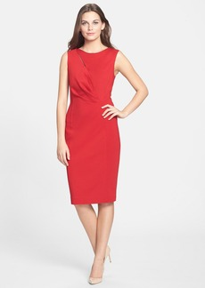 Elie Tahari 'Augustine' Knit Sheath Dress