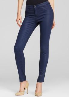 Elie Tahari Azella Coated Skinny Jeans in Indigo