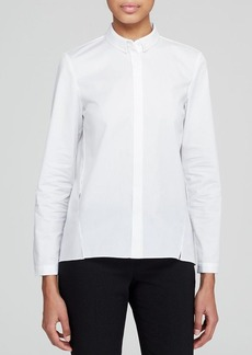 Elie Tahari Bella Side Slit Shirt