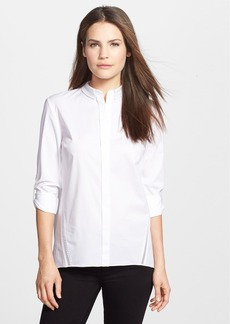 Elie Tahari 'Bella' Stretch Poplin Blouse