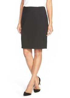 Elie Tahari 'Bennet' Stretch Wool Pencil Skirt
