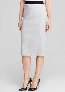 Elie Tahari Bennet Zip Pencil Skirt