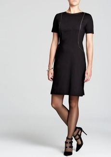 Elie Tahari Bentley Zip Seam Dress