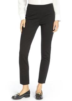 Elie Tahari black stretch woven straight leg 'Nina' pants