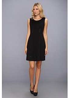 Elie Tahari Callie Double Knit Dress