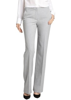 Elie Tahari carbon melange stretch blend 'Logan' pants