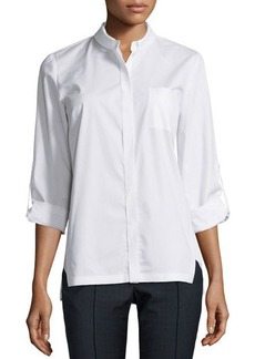 Elie Tahari Carly Long-Sleeve Blouse  Carly Long-Sleeve Blouse