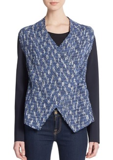 Elie Tahari Claire Tweed Jacket