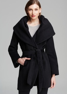 Elie Tahari Coat - Marla Wool Wrap