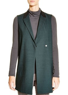 Elie Tahari Color Block Long Suiting Vest - Bloomingdale's Exclusive