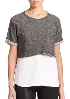 Elie Tahari Connie Two-Piece Top