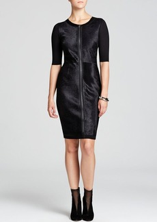 Elie Tahari Coraline Calf Hair Dress