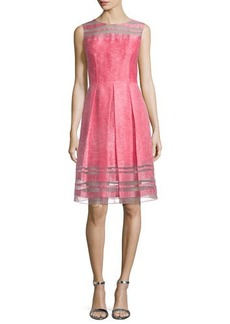 Elie Tahari Daisy Sleeveless Fit & Flare Dress