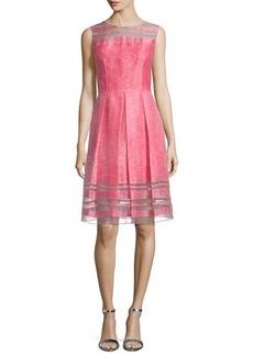 Elie Tahari Daisy Sleeveless Fit & Flare Dress