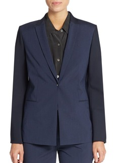 Elie Tahari Darcy Shadow Striped Blazer