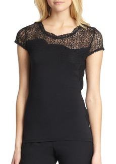 Elie Tahari Davis Knit Top
