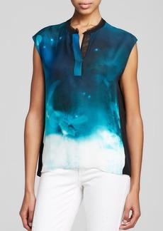 Elie Tahari Decklan Silk Blouse