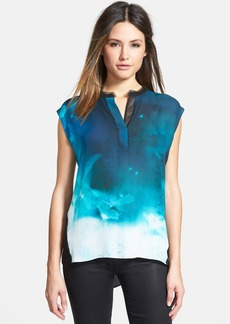 Elie Tahari 'Decklan' Sleeveless Silk Blouse