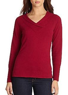 Elie Tahari Delila Cashmere Sweater