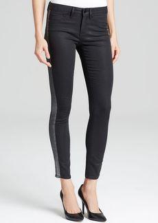 Elie Tahari Denim Tuxedo Skinny Jeans in Midnight