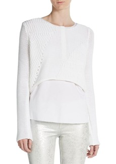 Elie Tahari Eleonore Layered Blouse