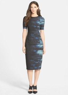 Elie Tahari 'Emory' Print Sheath Dress