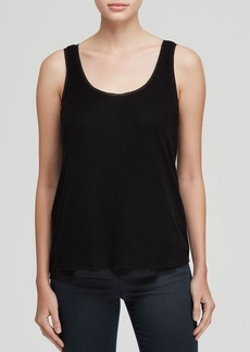 Elie Tahari Follia Silk Trim Tank