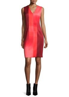 Elie Tahari Gwenyth Sleeveless Graphic Sheath Dress  Gwenyth Sleeveless Graphic Sheath Dress