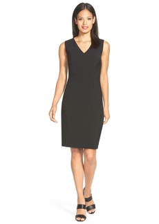 Elie Tahari 'Gwenyth' V-Neck Sheath Dress