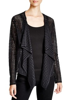 Elie Tahari Harla Cotton Lace Jacket