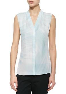 Elie Tahari Hayden Silk Sleeveless Tunic