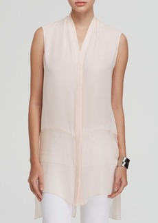 Elie Tahari Hayden Sleeveless Silk Tunic