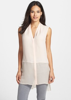 Elie Tahari 'Hayden' Sleeveless Silk Tunic