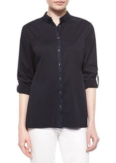 Elie Tahari Helena Button-Front Shirt  Helena Button-Front Shirt