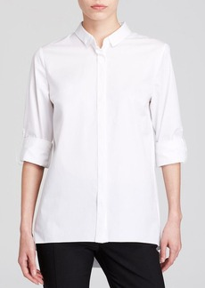 Elie Tahari Helena Zip Back Shirt