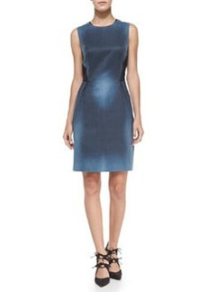 Elie Tahari Holly Sleeveless Printed Sheath Dress