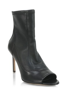 Elie Tahari Idylist Open Toe High Heel Booties