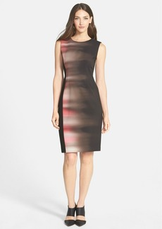 Elie Tahari 'Isabella' Print Sheath Dress