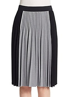 Elie Tahari Jayde Accordion Pleated Skirt