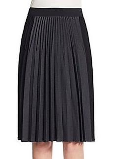 Elie Tahari Jayde Accordion Pleated Skirt