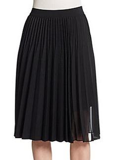 Elie Tahari Jayde Pleated Skirt