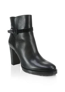 Elie Tahari Jenna Lug Sole High Heel Booties