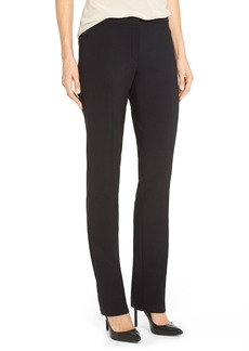Elie Tahari 'Jenny' Stretch Wool Straight Leg Pants
