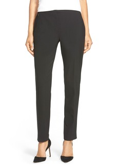 Elie Tahari 'Jillian' Slim Stretch Wool Pants