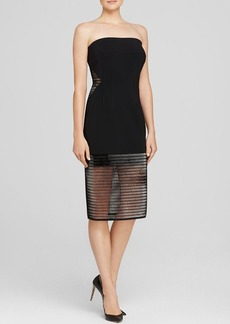 Elie Tahari Joey Strapless Dress