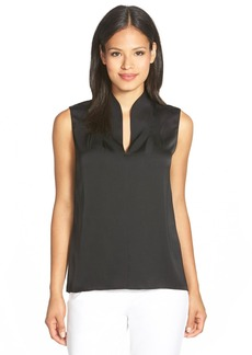 Elie Tahari 'Judith' Stretch Silk Shell