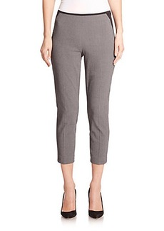 Elie Tahari Juliette Cropped Suiting Pants