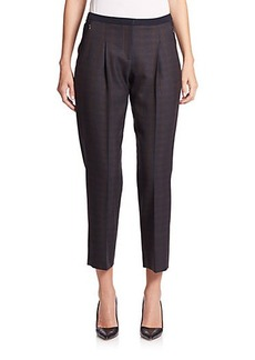 Elie Tahari Karis Flannel Pants