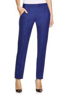 Elie Tahari Karis Slim Flannel Pants