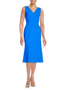 ELIE TAHARI Katelynn Midi Dress